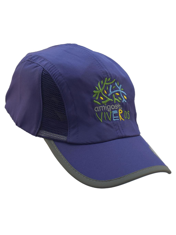 Gorra deportiva azúl marino