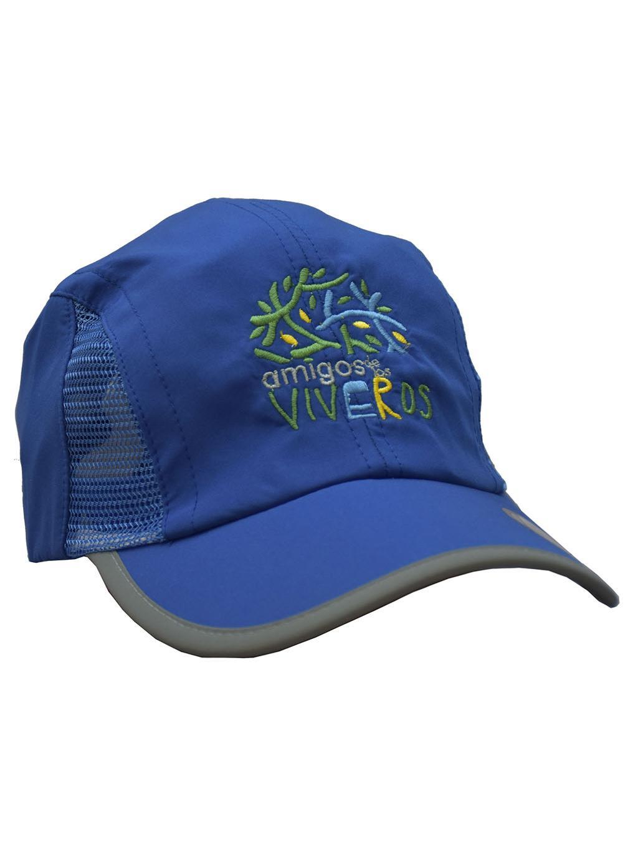 Gorra deportiva azúl rey