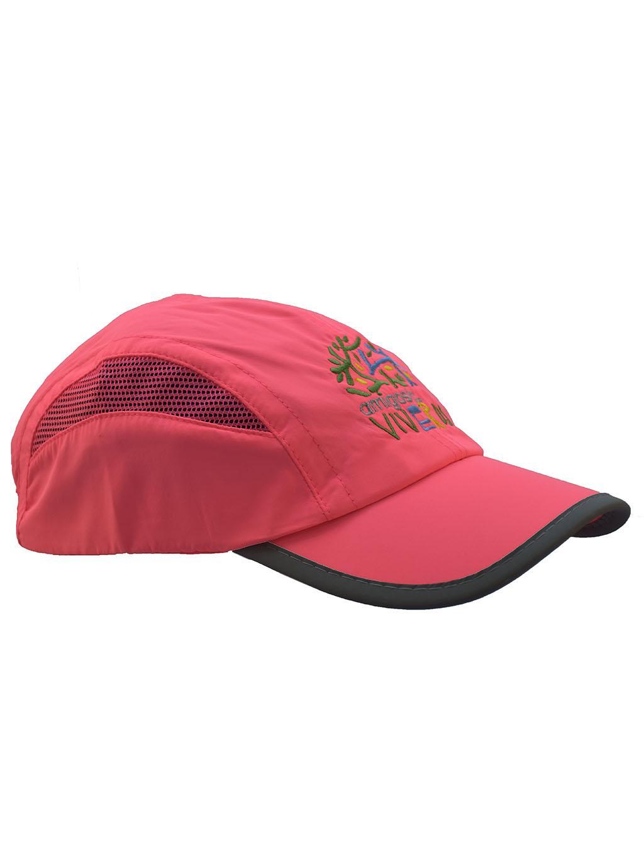 Gorra deportiva rosa